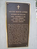 Image for Martin Luther - Doctor Martin Luther Memorial - Altenburg, Missouri