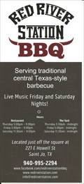 Image for Red River Station BBQ - St. Jo, TX