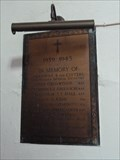 Image for Brass Plaque - St Mary - Wroxham, Norfolk