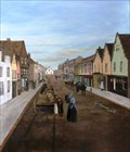 """Image for """"Ware High St in the Nineteenth Century"""" by Denise Kay Allen – Library, High St, Ware, Herts, UK"""