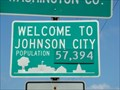 Image for Johnson City PopulationSign - Johnson City, Tn. - USA