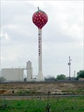 Image for World's Largest Strawberry, Water Tower, Festival - Poteet, TX