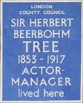 Image for Sir Herbert Beerbohm Tree - Rosary Gardens, London, UK