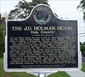Image for The J.D. Holman House - Ozark, AL
