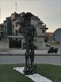 Image for Estatua peregrino - Baiona, Pontevedra, Galicia, España