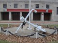 Image for USS Yantic anchor at the Detroit (Brodhead) Naval Armory, MI