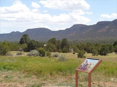 Pueblo Indian Farm Ruins - Santa Fe County, NM.