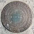 Image for USCGS Azimuth Mark WHITE 1948 - California