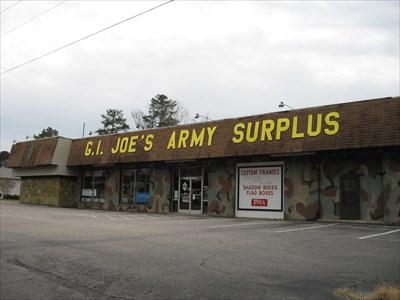 G.I. Joe's Army Surplus - Clayton, North Carolina ...