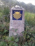Image for Way Marker Buxedo to Suarriba road- Fisterra, Spain