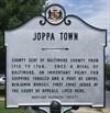 Joppa Town historical marker