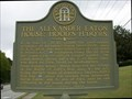 Image for THE ALEXANDER EATON HOUSE: HOOD'S H'DQ'RS- GHM 033-78