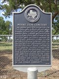 Image for Mount Zion Cemetery