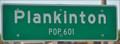 Image for Plankinton, South Dakota ~ Population 601