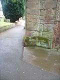Image for Cut Benchmark & 1GL Bolt, St Nicholas's Church, Kenilworth