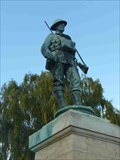 Image for WWII Memorial, Evesham, Worcestershire, England