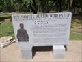 Image for Rev. Samuel Austin Worcester - Park Hill, OK