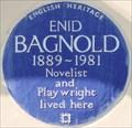 Image for Enid Bagnold - Hyde Park Gate, London, UK