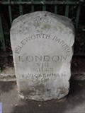 Image for Park Road Milestone - Park Road, Isleworth, London, UK