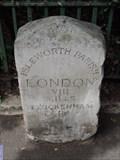 Image for Park Road Milestone - Park Road, Isleworth, London, UK