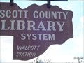 Image for Scott County Library System, Walcott Station.