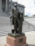 Image for Washington Statue Left Damaged To Show Yankee Evil
