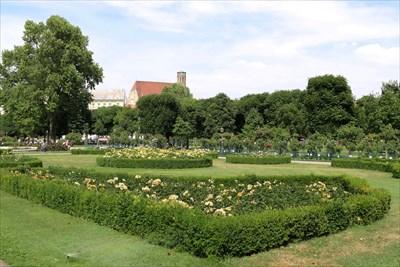 Rosengarten Im Volksgarten Wien Austria Rose Gardens On