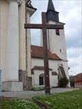 Image for Dreveny kriz u kostela - Brno-Zebetin, Czech Republic