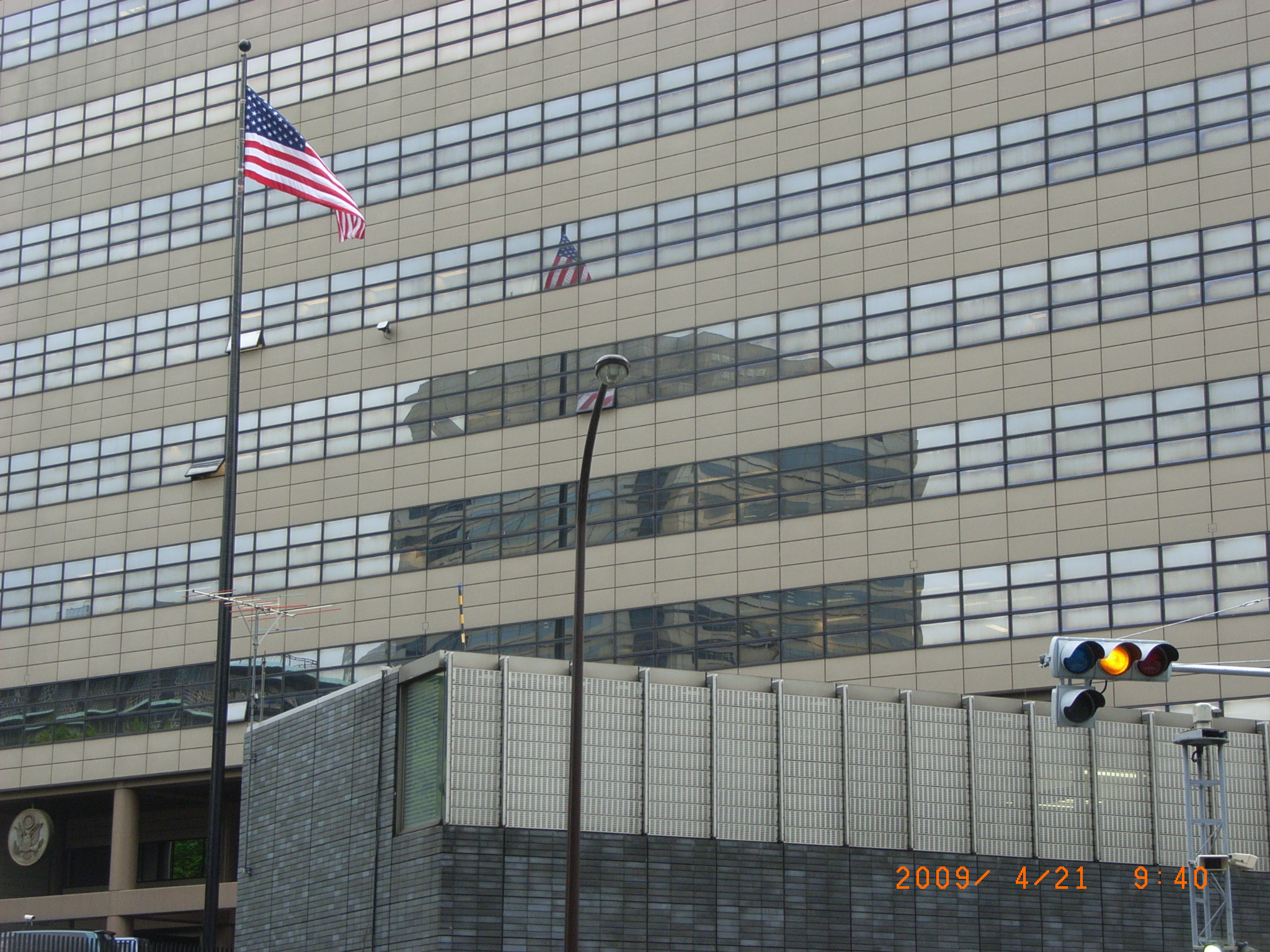 US Embassy Tokyo JAPAN Image - Us embassy tokyo map