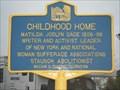 Image for CHILDHOOD HOME - Cicero, New York