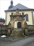Image for Torbogen vor der Wallfahrtskirche - Glosberg/Germany/BY