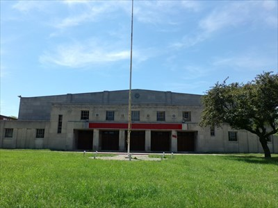 Lord Abercrombie visited Detroit Naval Armory (Brodhead Naval Armory), MI