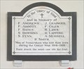 Image for Memorial Plaque - St Mary - Somersham, Suffolk