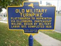 Image for Old Military Turnpike - Plattsburgh, NY