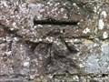 Image for Cut Benchmark on Cemetery Wall, Wrockwardine, Telford, Shropshire