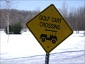 Image for Golf Cart Crossing - Coldwater, Ontario, Canada