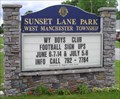 Image for Sunset Lane Park, West Manchester Twp., Pennsylvania