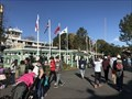 Image for Historic American Flags in Frontierland at Disneyland  - Anaheim, CA
