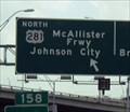 Image for McAllister Freeway U.S. 281 (nee North Expressway); San Antonio, TX