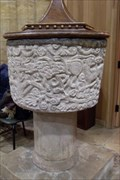 Image for Font - All Saints', Harpole, Northants.