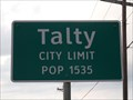 Image for Talty, TX - Population 1535