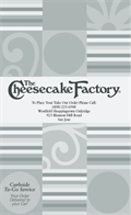 Image for Cheesecake Factory - Oakridge -  San Jose, CA