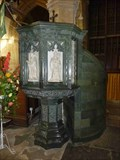 Image for Pulpit, Holy Trinity Church, Stratford-upon-Avon, Warwickshire, England