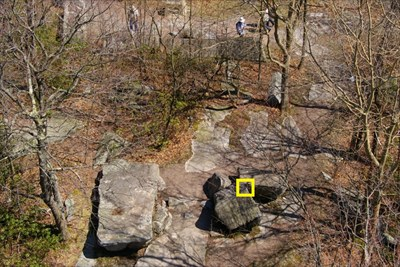 HighPoint benchmark is marked with yellow box