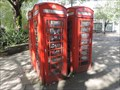 Image for Four Red Telephone Boxes - Westbourne Street, London, UK