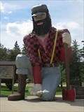 Image for LARGEST - Paul Bunyan in the World