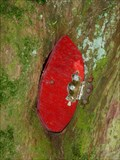 Image for Red Fairy Door with No Frame - Portpatrick, Scotland, UK