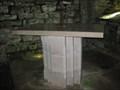 Image for Altar - St Aldhelm's Chapel, St Aldhelm's Head, Dorset, UK