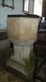 Image for Baptism Font - St Michael - Compton Chamberlayne, Wiltshire