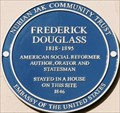 Image for Frederick Douglass - Whiteheads Grove, London, UK